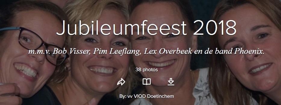 Foto's Jubileumfeest 2018