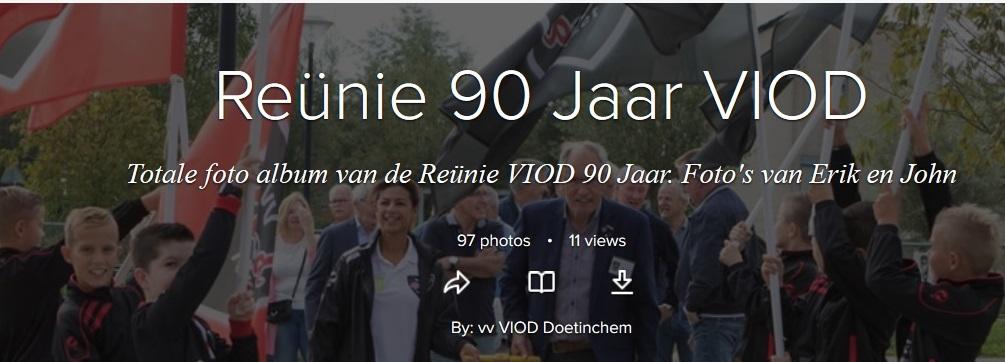 Foto album van de Reünie 90 Jaar VIOD
