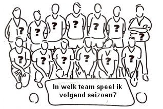 Nieuwe teamindelingen jeugd seizoen 21/22 (UPDATE O17 & O19)