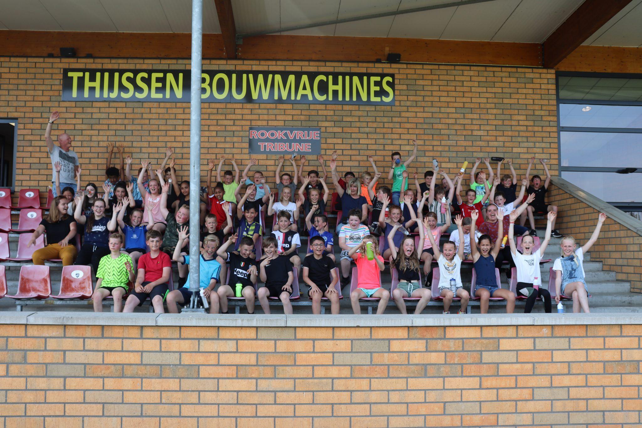 Basisschool 't Prisma maakt kennis met v.v. VIOD