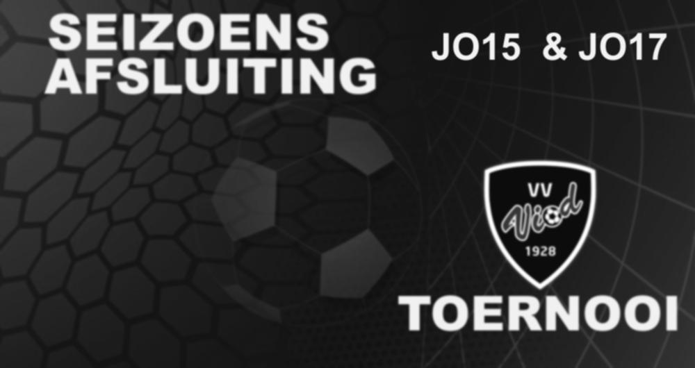 Seizoensafsluiting Jeugd Toernooi (JO15 & JO17)
