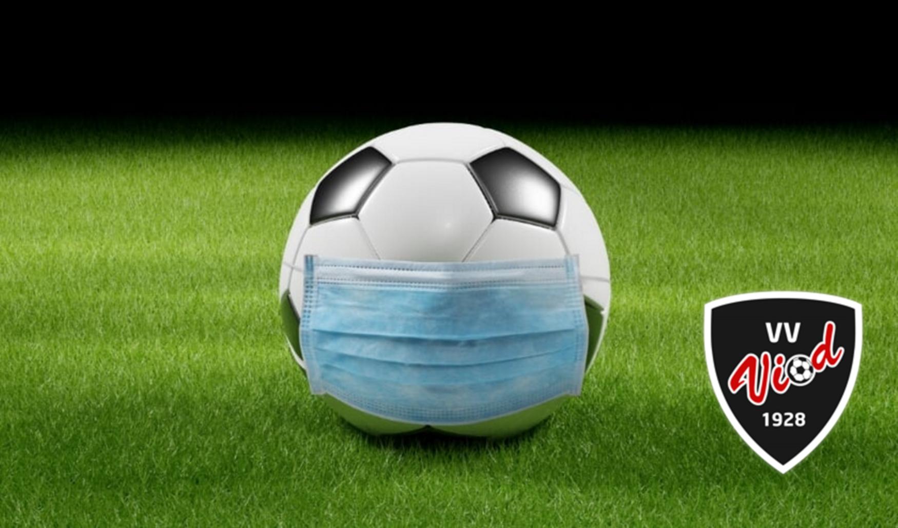Voetbalcompetities bij de senioren worden niet meer hervat